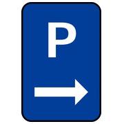 Panneaux de parking plats ou à couvre-chant