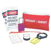 Kit pochette ceinture pour dispositifs de condamnation