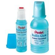 Lijm met rolapplicator Pentel Roll'n Glue - flesje van 30 ml