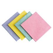 Pakket van 10 schoonmaakdoeken Wasset blauw