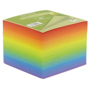Supplementary refill for plexi cube, coloured notes