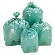Ecological bags 100 L - pack of 200 - green