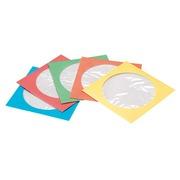 Papieren beschermhoes voor CD's TnB 5 geassorteerde kleuren - pak van 50