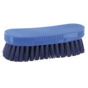 Professionele handborstel polyester breedte 19,5 cm blauw