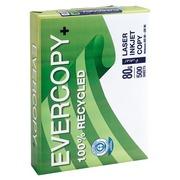 Gerecycleerd wit A4-papier 80 g Evercopy - Riem van 500 vellen
