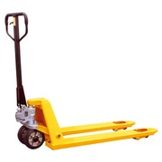 Standard pallet jack yellow carrying capacity 2500 kg