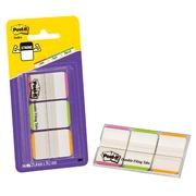 Marque-pages strong couleurs unis néons Post-It - distributeur de 66 feuilles