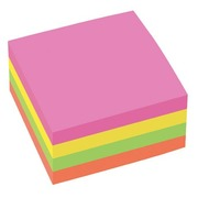 Kubus 400 notes JMB 76x76 mm neon