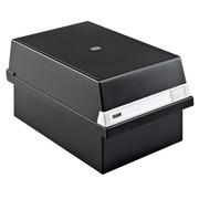 Black card box A5 (148x210 mm) with cover