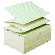 Cardboard of 2000 listings 380x280 mm 11 '' green