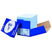 Papier Farbe blau A4 80 g Clairefontaine Trophée Pastellfarben - Box von 2500 Seiten