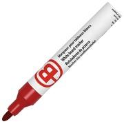 Uitwisbare marker JMB plastic behuizing - rood