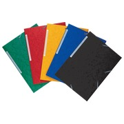 Sleeve 3 folds 5/10th rubber band assorted Bruneau