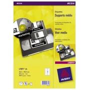 Etiquette cassette vidéo 76 x 46,4 mm Avery L7671-25- Pochette de 300