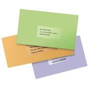 Pack 400 Adressetikette Avery J 8562 99,1 x 33,9 mm für Tintenstrahldrucker