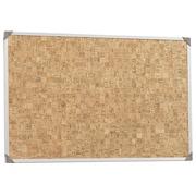 Information board, cork 90x60cm, aluminium frame