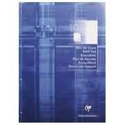 Notizblock Clairefontaine 4 Lochungen A4 100 Seiten - kariert