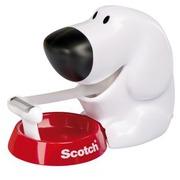 Dévidoir adhésif chien Scotch avec rouleau