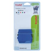 Pack of 3 ink cassettes Trodat Printy 4914 - blue