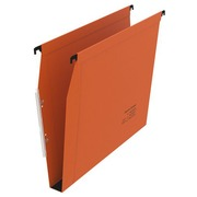 Suspension file eco bottom 30 mm for cabinets 33 cm orange