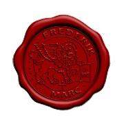 LAKSTEMPEL diameter 45mm - met logo