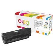 Toner Armor Owa compatible HP 12A-Q2612A noir pour imprimante laser