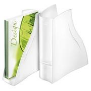 Zeitschriftenhalter Ellypse weiß Rücken 8,3 cm