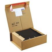Boite postale carton L 33 x l 29 x H 11 cm