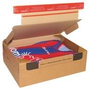 Mail box cardboard model send and return 28.2 x 19.1 x 9 cm