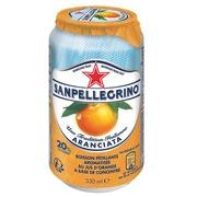 Blikjes San Pellegrino Aranciata 33cl - doos van 24