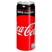 Doos 24 blikjes Coca Cola Zero 33 cl