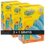 Pack 2 + 1 recharge plumeaux fibres Swiffer Duster classique L 90 cm- Boîte de 10