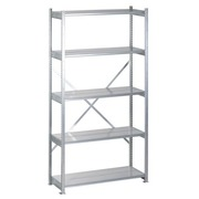 Basic element, galvanized shelving