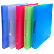 Ring binder 2 rings of 20 mm polypropylene CHROMALINE - A4 size