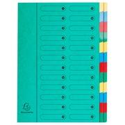 Sorteermap Harmonika met uitrekbare rug - 24 indelingen.