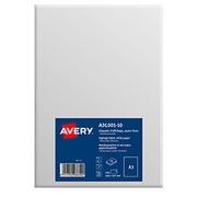 Etiquettes A3 blanc mat Avery A3L001-10 - 420 x 297 mm - Pochette de 10