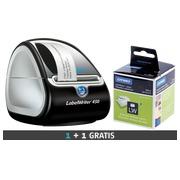 Imprimante d'étiquettes Dymo LabelWriter 450 + 1 boîte de 2 rouleaux adresse offert