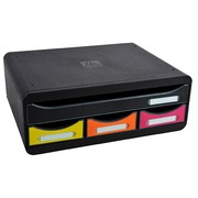 Exacompta Toolbox with 4 Drawers Arlequin