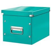 Boîte de rangement carton Leitz Click & Store Wow Cube Format M blanc