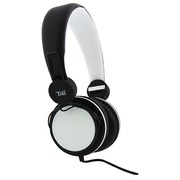Foldable headset black/white