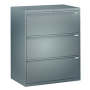 Lateral File Cabinet 3 Drawers W 80 cm