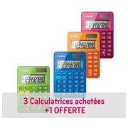 Pack 3 calculators Canon + 1 for free