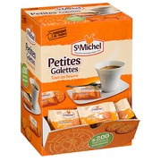 Mini waffles with butter St Michel - box of 200