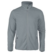 Printer Twohand Fleece Jacket Bright Grey 4XL