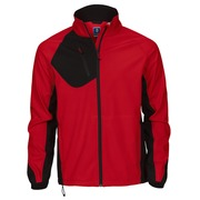 2422 softshelljacket men Rouge 4XL