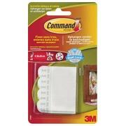 Command fotolijststrip, small, draagvermogen 1,8 kg, wit, blister van 8 stuks