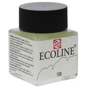 Talans Ecoline peinture à l'eau flacon de 30 ml, blanc