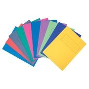 Class'ex chemise de classement 10 couleurs assorties (5 pièces de chaque couleur)