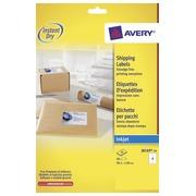Avery étiquettes pour adresses ft 99,1 x 139 mm (l x h) blanc 40 étiquettes par boite.