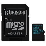 Kingston Canvas Go! - Flash-Speicherkarte - 32 GB - microSDHC UHS-I